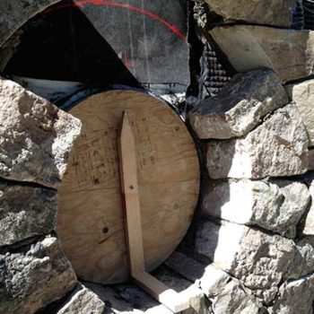 Forming a round window