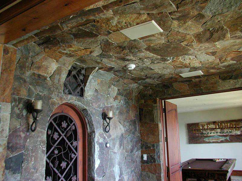 Stone Wall and Ceiling