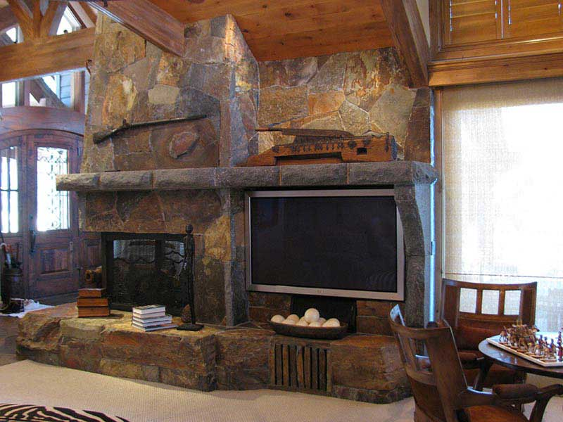 Fireplace and Video