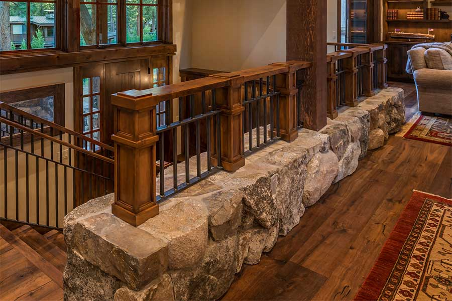Stone Stairway Wall
