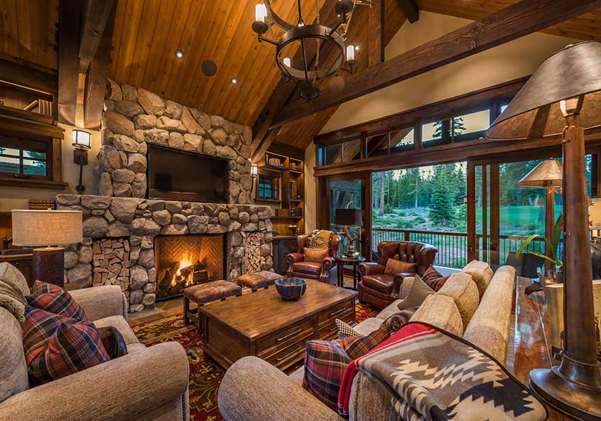 Martis Camp Project Fireplace
