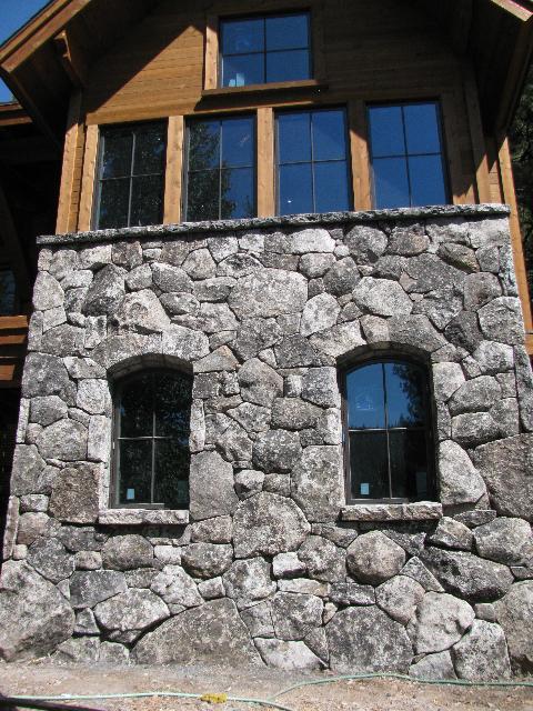 Stone Window Wall