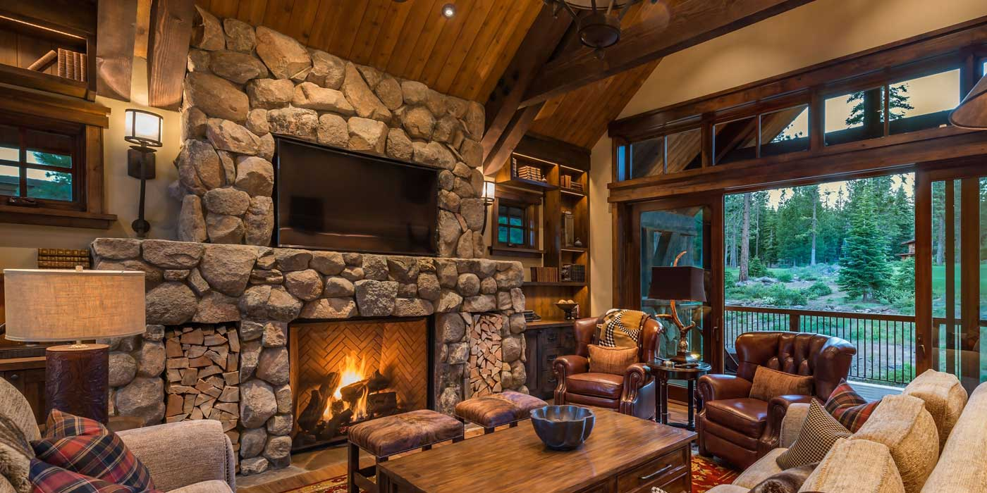 Martis Camp Fireplace