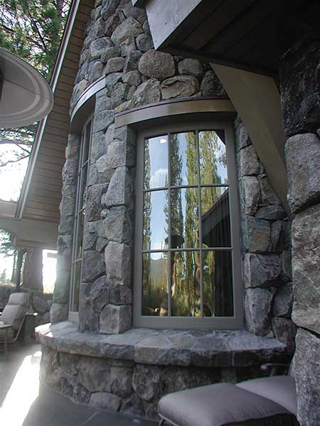 Curved Window Wall